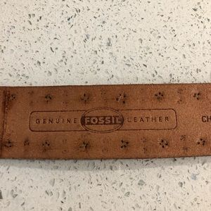 Fossil Accessories - Fossil Genuine Leather Belt size S